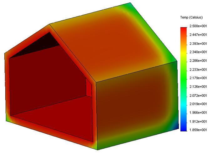 d perdition thermique simulation de. Black Bedroom Furniture Sets. Home Design Ideas